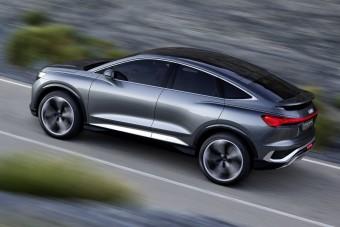Videókon az Audi elektromos terepkupéja