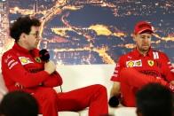 F1: Alig van különbség Vettel és Leclerc között 2