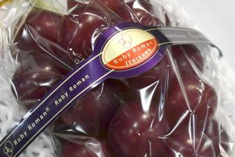 Csaknem 4 millió forintot adtak egy fürt szőlőért Japánban