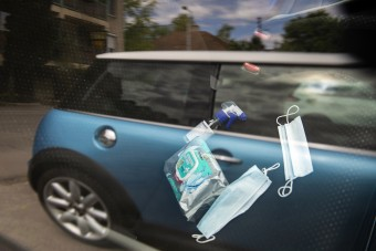 Kézfertőtlenítőt tartasz az autóban? Légy óvatos!
