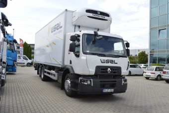 Ilyen teherautókkal szállítják az élelmiszereket