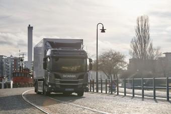 Itt a Scania következő elektromos teherautója
