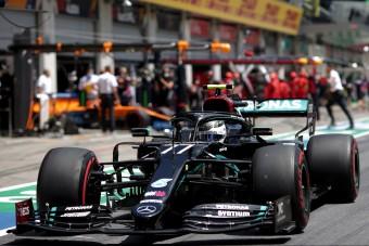 F1: Bottas-pole és Vettel-dráma az osztrák időmérőn