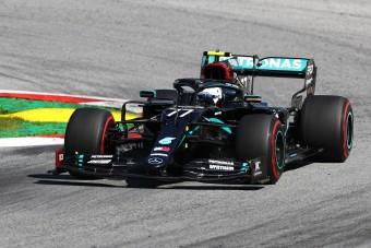 F1: Bottas nyerte a kaotikus Osztrák Nagydíjat