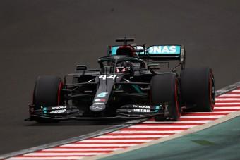 F1: Hetedszer is Hamiltoné a magyar időmérő