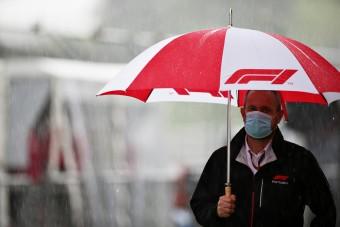 F1: Elmosta az eső az utolsó gyakorlást
