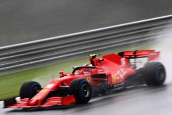 F1: Büntetést kapott Leclerc az időmérő után