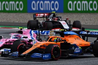 F1: Eddigi legjobb versenyének örül a McLaren-ifjonc