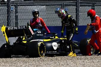 F1: Ricciardo nem tudja, miért ütközött