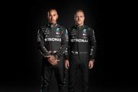 Így fest élőben a Mercedes fekete F1-ese 1