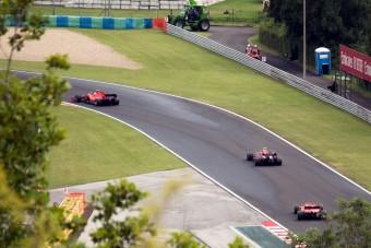 F1: Ezt látta egy lesifotós a Magyar Nagydíjon