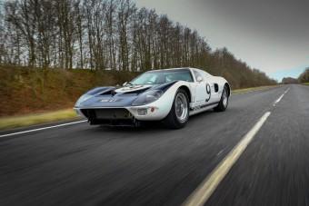Milliárdokat ér a Ford GT40 prototípusa