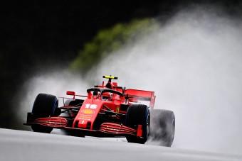 F1: Leclerc-t és Räikkönent is vizsgálják az időmérő után