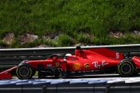 F1: A Ferrari egyik versenyzőjére sem akar mutogatni 1