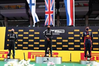 F1: Unták magukat a dobogósok a Stájer Nagydíjon