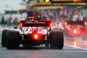 F1: Hűvös, esős futam jöhet