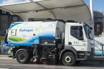 Hidrogénnel csökkentették a károsanyag-kibocsátást