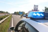 Felborult egy kisbusz, 9-en sérültek meg az M7-esen 1