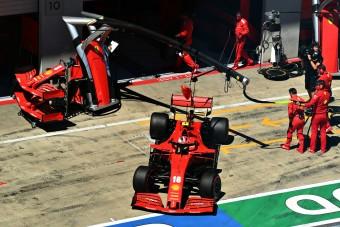 F1: A Ferrari előrehozza a hungaroringi fejlesztést