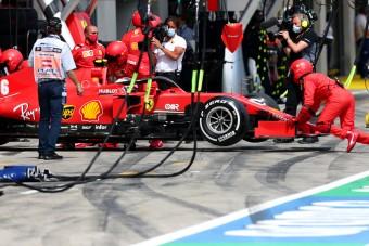 F1: Vettel-tragédia, vörös fiaskó
