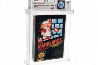 A világ legdrágább videojátéka lett a Super Mario