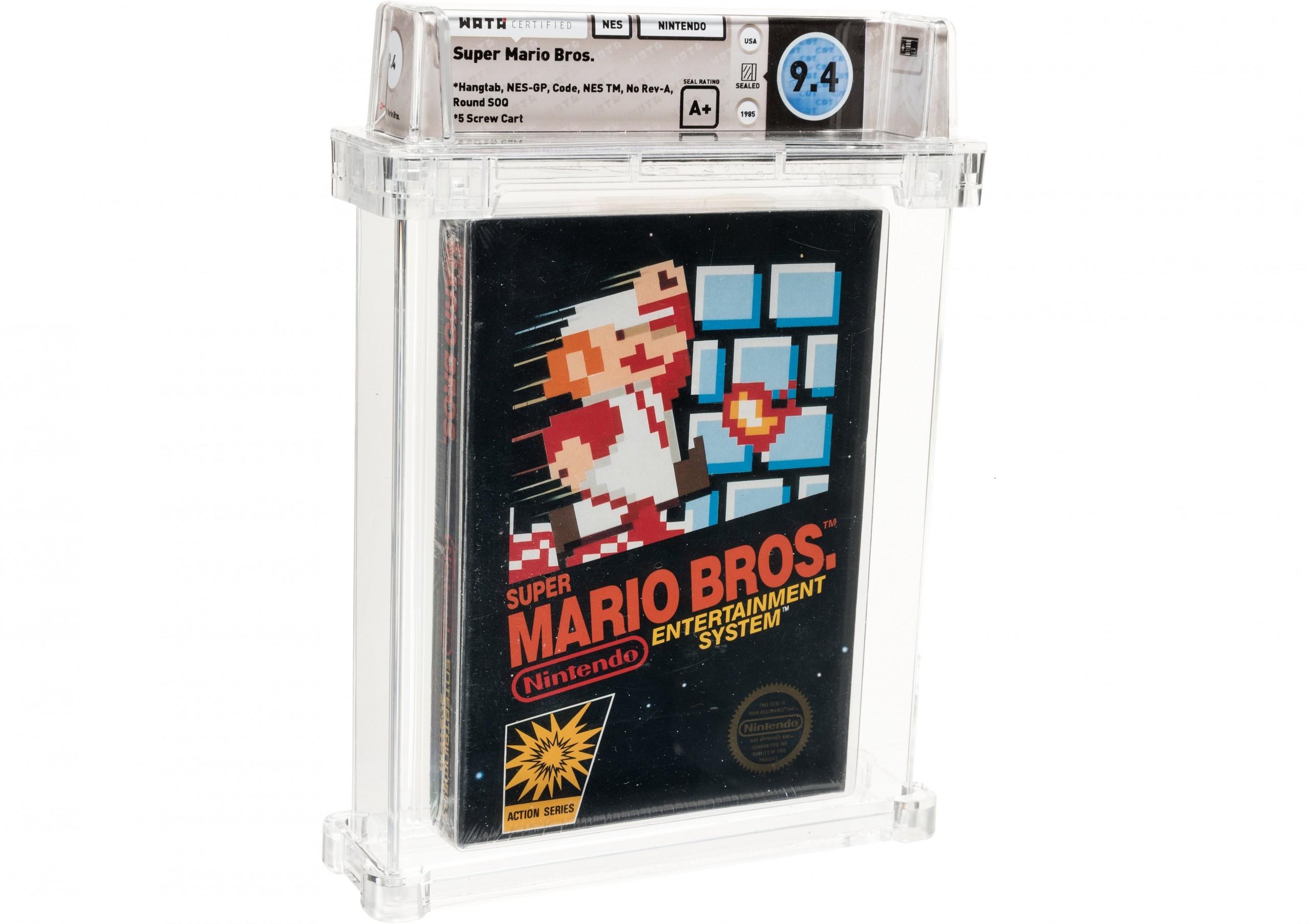 Milliókat fizetnek ezért a Super Mario-játékért 1