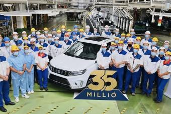 Ezt a Suzukit ünnepli az egész esztergomi gyár