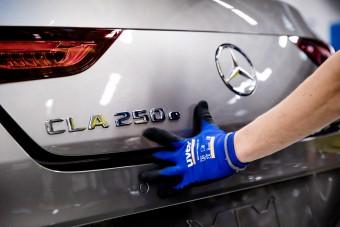 Kecskeméten megkezdődött az új hibrid Mercedesek gyártása