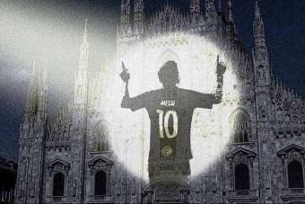 Így várják Messit Olaszországban - kép