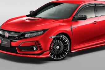 Nem a szerényeknek szól a Mugen Honda Civic Type R-je