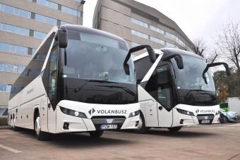 Új távolsági buszokat vásárolt a Volánbusz