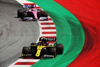 F1: A Renault óvást nyújtott be a Racing Point ellen