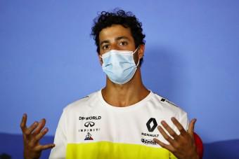 Ricciardo: Az én autómba nem ülhet Alonso