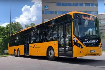 Megérkeztek a Volánbusz új buszai