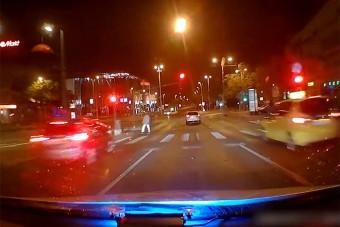 Filmbe illő rendőri üldözés volt Budapesten