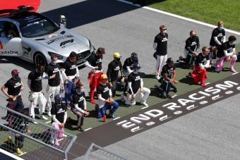 F1: Rasszista, aki nem térdelt?