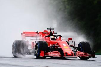 F1: Vettel az élen, Hamilton kör nélkül