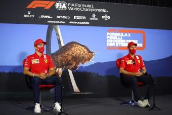 F1: Megrovást kaptak a Ferrari-versenyzők