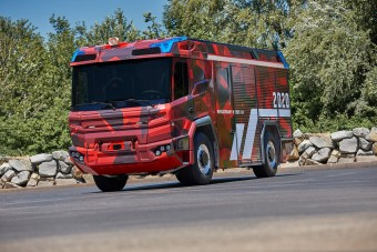 A szomszédban tesztelik a BMW-motoros tűzoltóautót