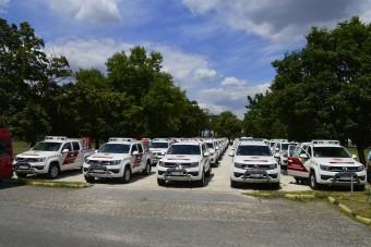 Megnéztük a Katasztrófavédelem új járműveit