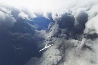 Repülővel nézik meg a Laura hurrikán belsejét