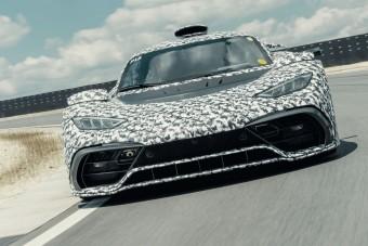 Mérföldkőhöz ért a Mercedes-AMG Project ONE fejlesztése