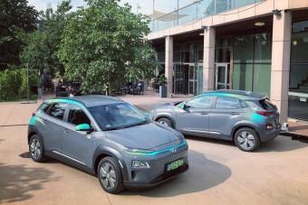 Elektromos Hyundai-jalbővül a MOL Limo flottája