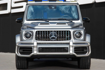 Ez a Mercedes G-osztály 940 lóerővel egy pokoli, száguldó tégla