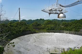Kábel rongálta meg súlyosan a világ egyik legnagyobb rádióteleszkópját
