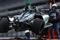 A vert mezőnyben Alonso Indianapolisban 3