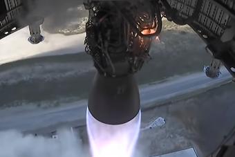 Szürreális látvány, ahogy a levegőbe emelkedett a SpaceX Starship űrhajója