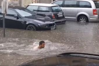 Szürreális videók kerültek elő a hét eleji hatalmas esőzésről
