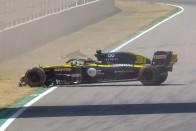 F1: Tarolt a Mercedes a spanyol kánikulában 1