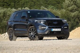 Brutális SUV állami támogatással: Ford Explorer 2020